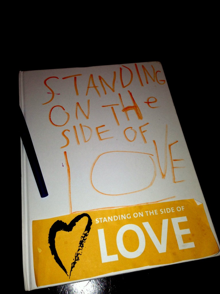 Our Thirty Days of Love journal